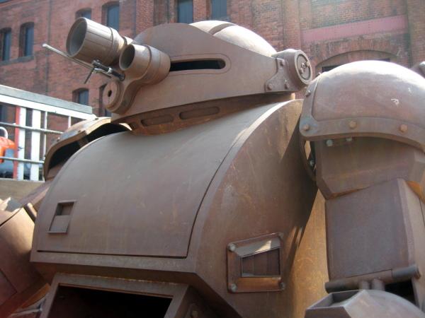 """ドッグ 実物 大 スコープ 【稲城市】""""装甲騎兵ボトムズのスコープドッグ""""が稲城長沼に設置される?!来年2020年3月に全長4mの像設置(号外NET)"""